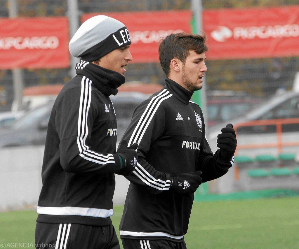 Aleksandar Prijović trenuje z rezerwami