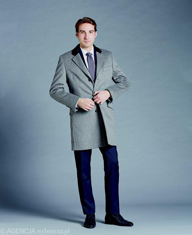 płaszcz w kolorze szarym Lavard, 749,90 zł