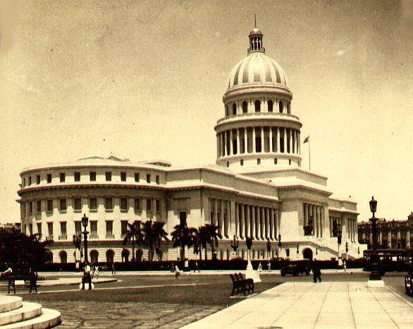 El Capitolio w Hawanie (Kuba), 1929 r.