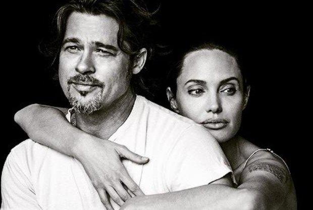 Angelina Jolie i Brad Pitt, Vanity Fair Italia 2015
