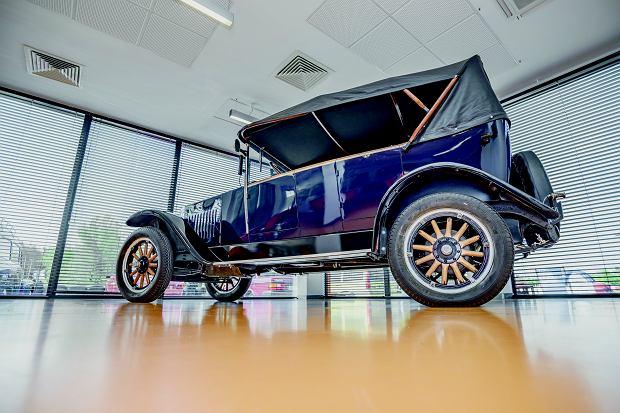 Volvo OV4 jakob z 1927 r., czyli najstarsze zachowane volvo na świecie! Delikatne, bo na drewnianej ramie.