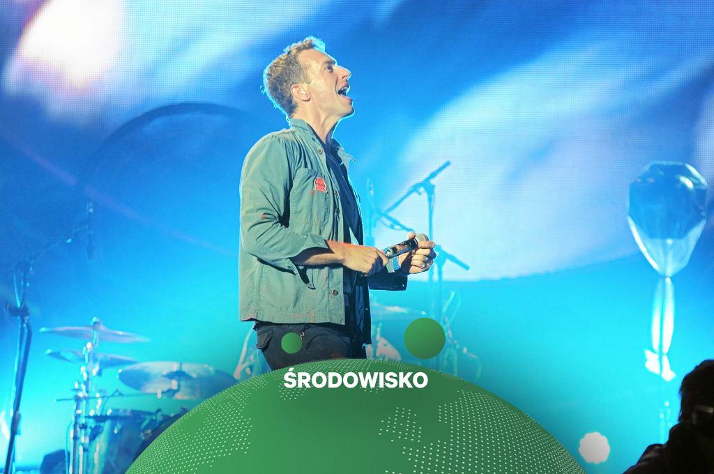 Coldplay nie pojedzie w nową trasę koncertową. Ze względu na środowisko