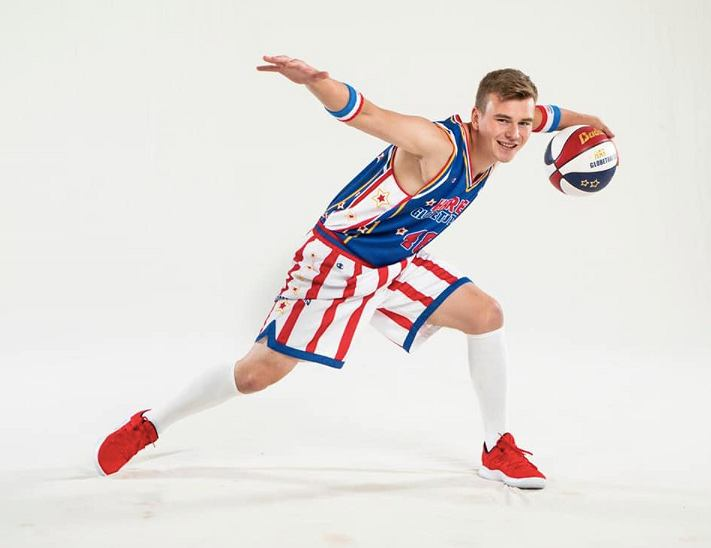 Paweł Kidoń został koszykarzem Harlem Globetrotters