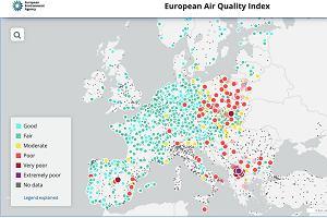 Bez unijnych pieniędzy wciąż będziemy smogową, trującą, czerwoną plamą na mapie Europy