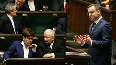 Posiedzenie inauguracyjne Sejmu