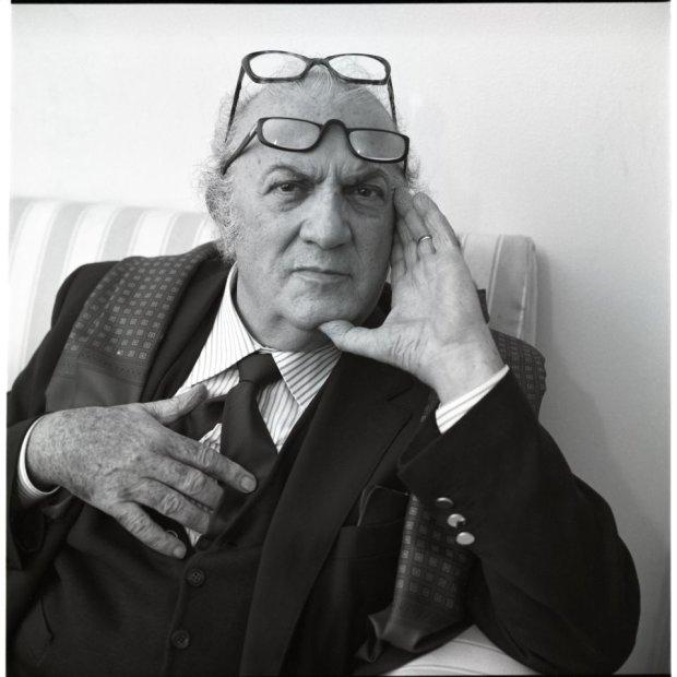 Federico Fellini, fot. Volker Hinz