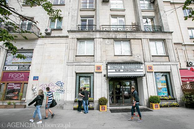 Teatr Kwadrat przy ulicy Marszałkowskiej, dawniej kino Bajka