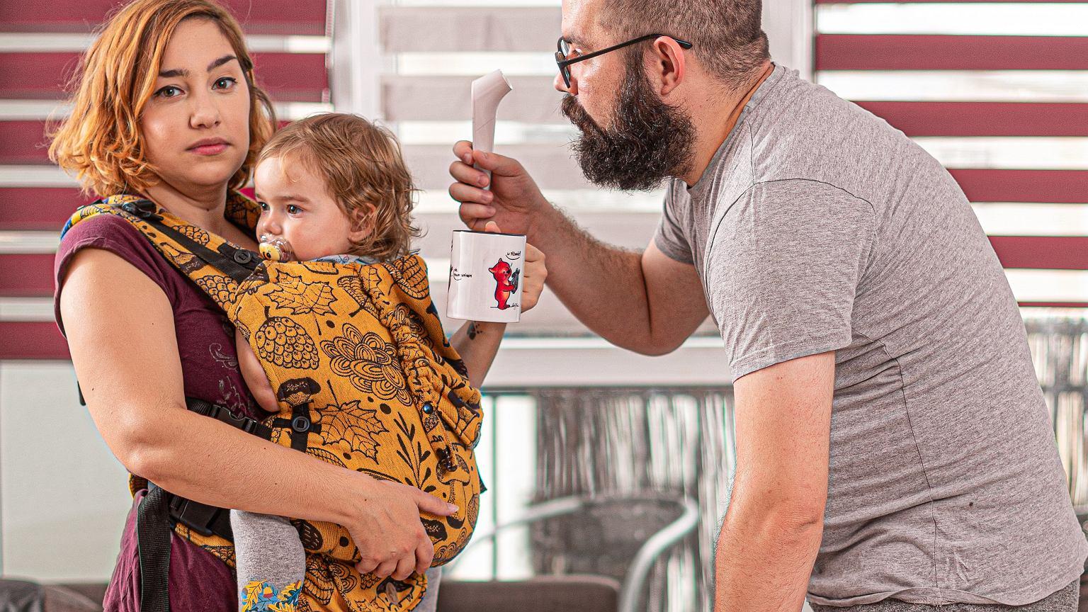 Ksenia Potępa z rodziną (fot. Materiały prasowe)