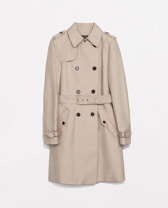 Trencz: 17 klasycznych damskich płaszczy na jesień zdjęcie