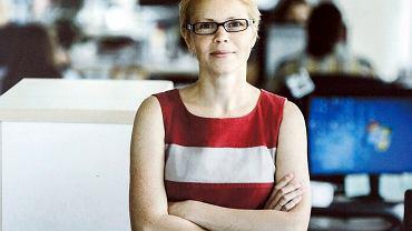 Marina Zołotowa, redaktorka naczelna portalu Tut.By