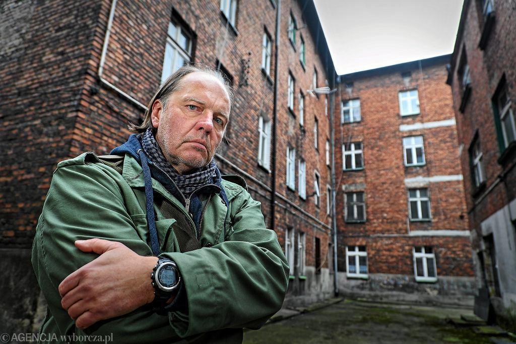 Przewodniczący NSZZ Policjantów Rafał Jankowski