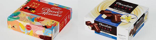 Ptasie mleczko vs mleczko waniliowe (Carrefour)