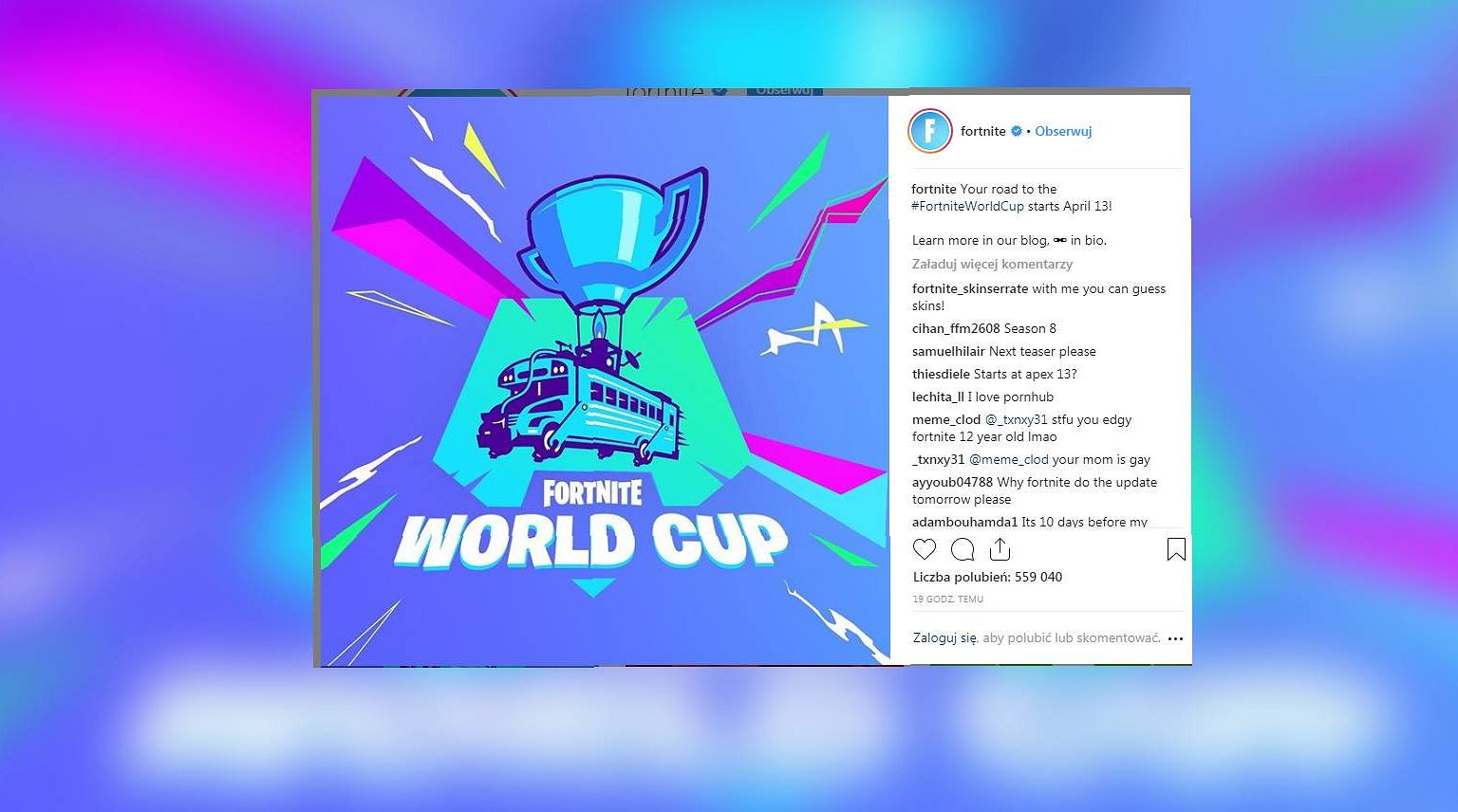 we need to get to know the prize pool at the fortnite world cup tournament 100 million dollars are waiting for the winners - fortnite world cup date finals