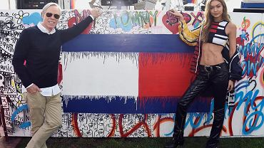 Pokaz Tommy Hilfiger i Gigi Hadid wiosna-lato 2017