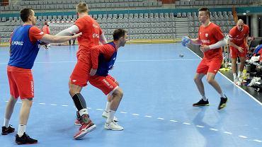 Polacy na treningu przed meczami w turnieju 4Nations Cup