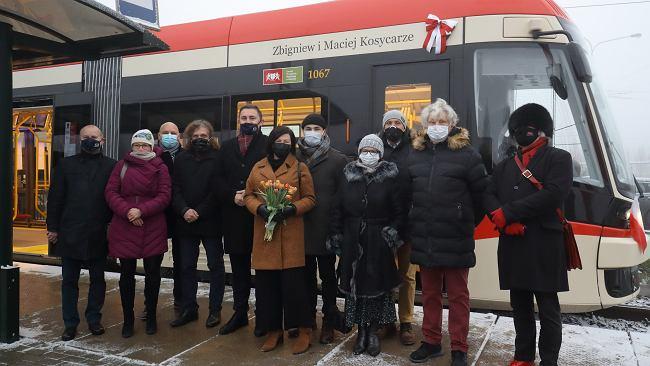 Tramwaj Zbigniewa i Macieja Kosycarzy jeździ po Gdańsku