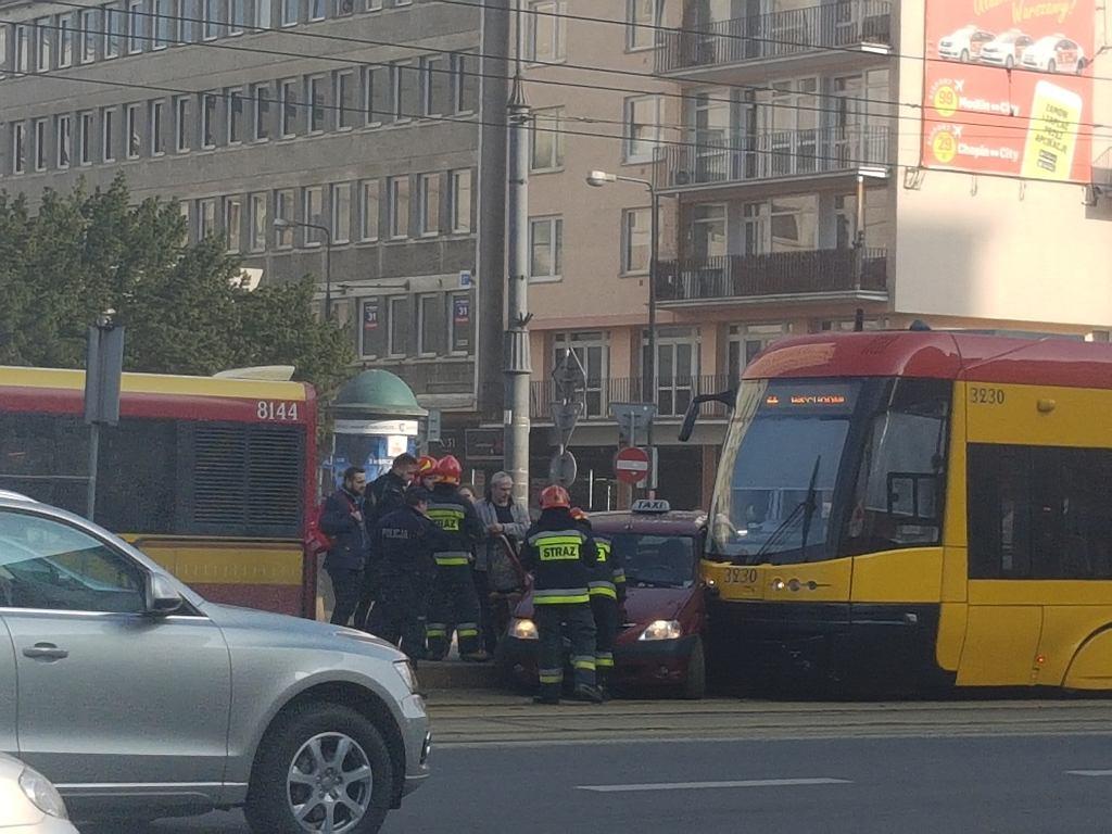 Wypadek przy metrze Centrum
