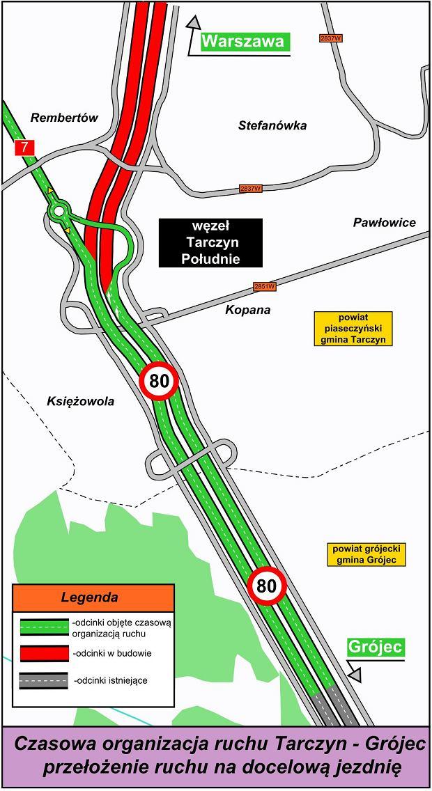 Trasa S7 Tarczyn - Grójec