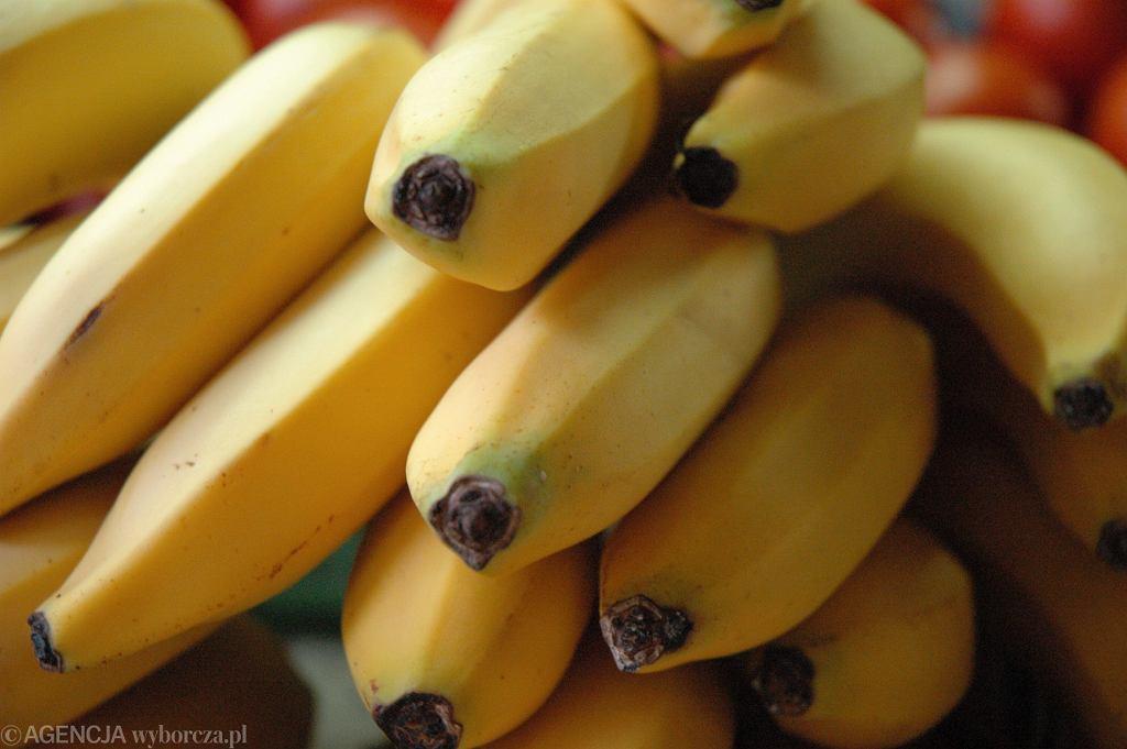 Banany, zdjęcie ilustracyjne