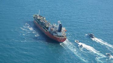 Tankowiec przechwycony przez irańskie siły