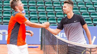 Szymon Walków (z lewej) i Marcin Gawron. Eliminacje Poznań Open 2016