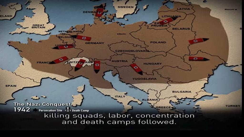 Na Światowym Forum Holokaustu przedstawiono mapę zawierającą błędy historyczne