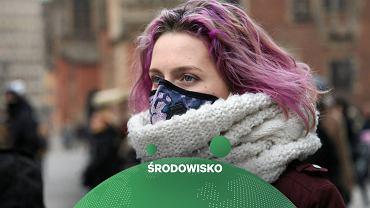 Maska antysmogowa (zdjęcie ilustracyjne)