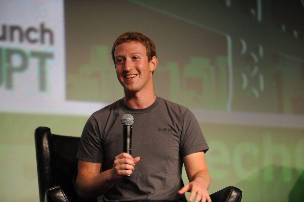 Mark Zuckerberg, założyciel serwisu Facebook.