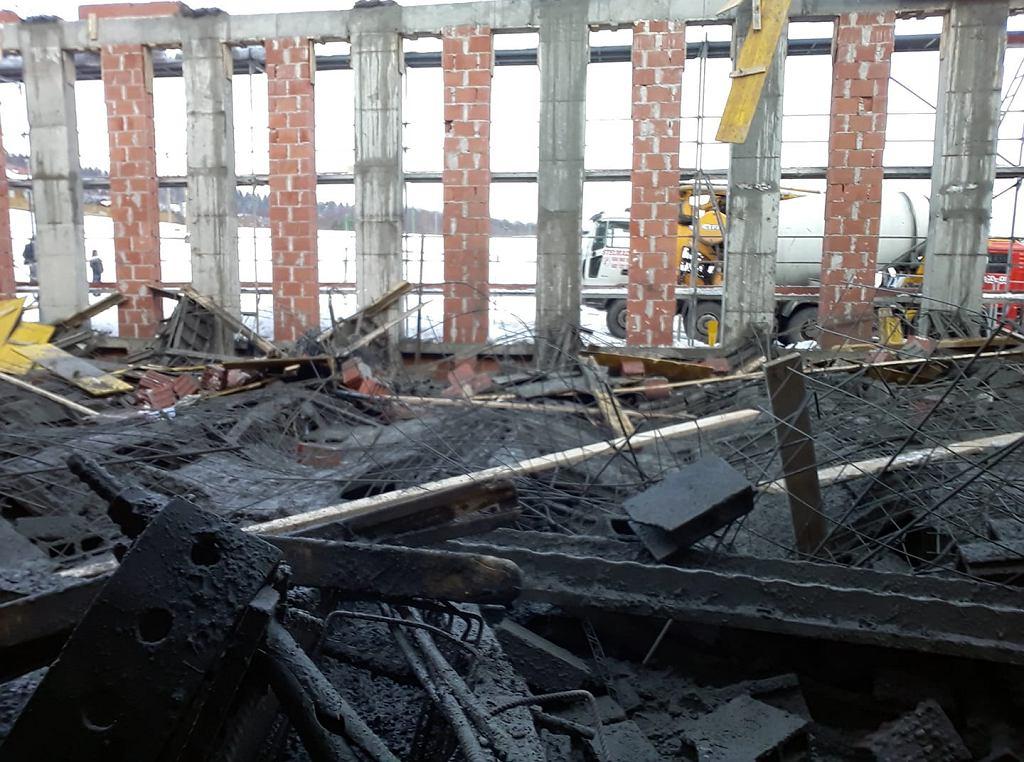 Katastrofa budowlana w Żurowej
