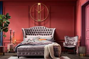 Sypialnia glamour: pomysły na aranżację