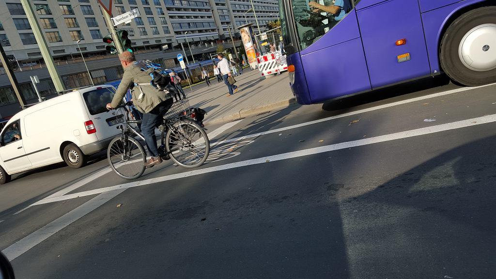 pasy rowerowe w Berlinie