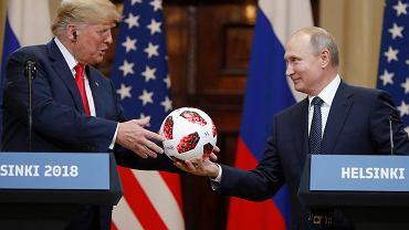 Spotkanie Putin - Trump, Helsinki 16.07.2018