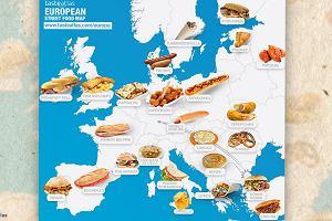 Wiecie, z jakimi przysmakami kojarzą Polskę za granicą? Teraz sprawdzicie to na kulinarnej mapie świata