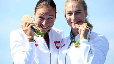 Karolina Naja (z prawej) i Beata Mikołajczyk z brązowym medalem w Rio de Janeiro!