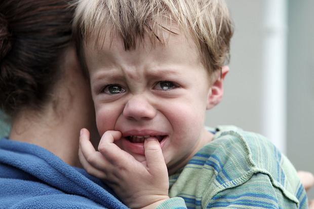 Porwanie dziecka. Matka: Synek wskoczył mi na ręce, szłam do wyjścia, drogę zagrodził mi policjant [LIST]