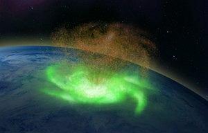 Pierwszy kosmiczny huragan na Ziemi. Wirująca plazma i deszcz elektronów