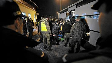 Grupa Czeczenów i interwencja Straży Granicznej - zdjęcie ilustracyjne