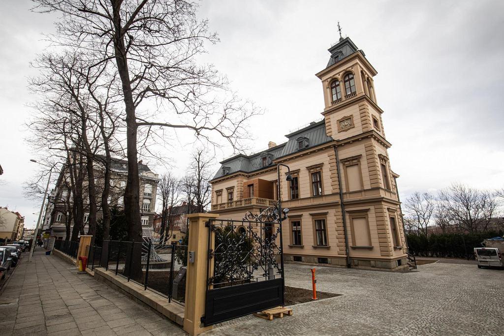 Willa Sixta w Bielsku-Białej po remoncie