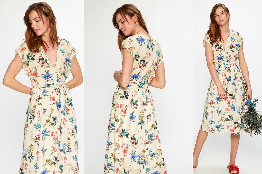 Sukienka w stylu lat 40.