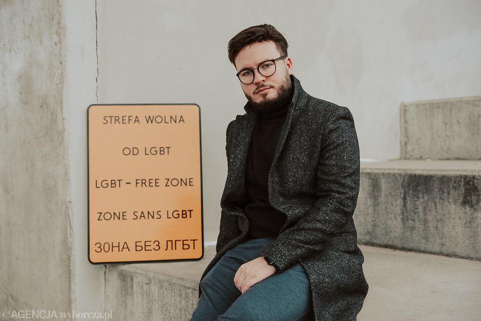 Bart Staszewski, aktywista LGBT