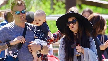 Brian Austin i Megan Fox z dziećmi