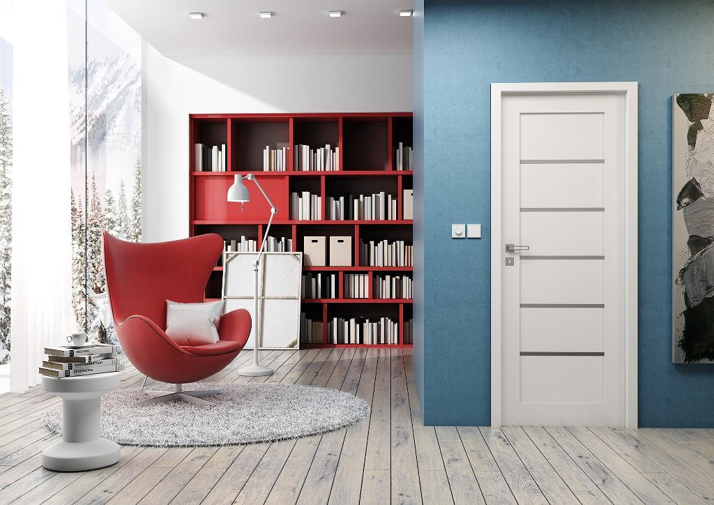 Czerwień i błękit z bielą