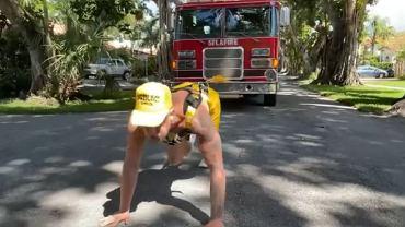Szalony trening Jake'a Paula