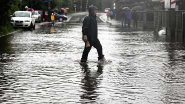 Powódź w Małopolsce. Bieżanów