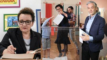 Anna Zalewska, Ewa Kopacz, Robert Biedroń