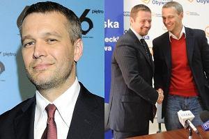 Michał Żebrowski i Rafał Trzaskowski