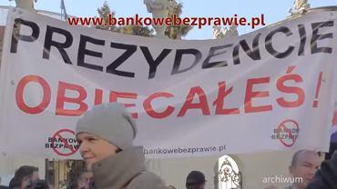 """fragment filmu """"Spot z zaproszeniem na #Manifestację #ZeroHaraczu"""""""