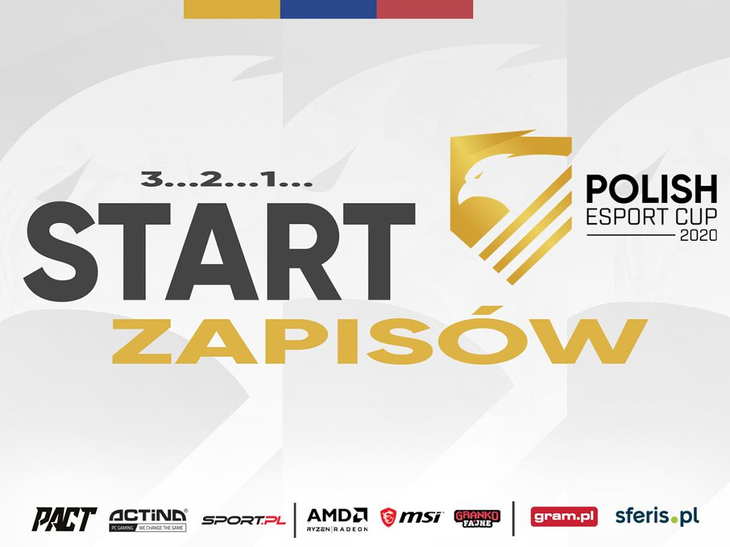 POLISH ESPORT CUP 2020 - zapisy ruszyły!