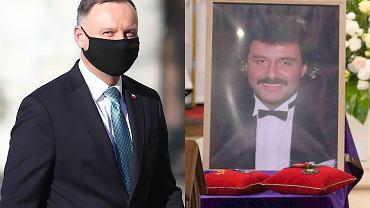 Andrzej Duda na Wawelu / Pogrzeb Krzysztofa Krawczyk