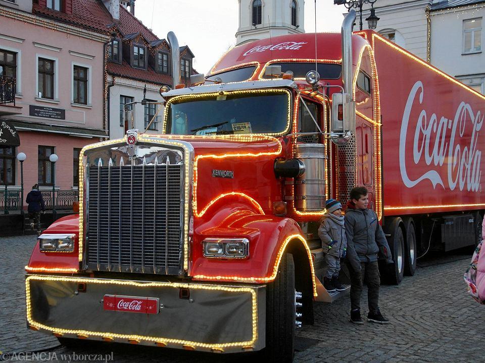 Świąteczne ciężarówki na Starym Rynku